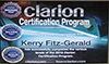 Kerry clarion certificate
